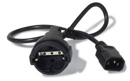 APC Power cord, 10A, 230V, C14 to Schuko