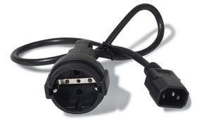 Power cord, 10A, 230V, C14 to Schuko