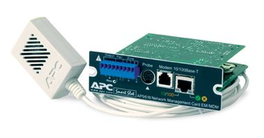 Network Management Card with Environmental Monitoring +