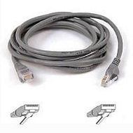 CAT5e UTP Assembled Patch Cable: Grey, 3 Meters