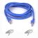 BELKIN CAT 5 PATCH CABLE 15M MOULDED SNAGLESS BLUE NS