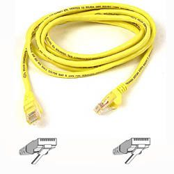 BELKIN CAT 5 PATCH CABLE 1M MOULDED/ SNAGLESS YELLOW NS (A3L791B01M-YLWS)