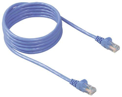 CAT 5 PATCH CABLE ASSEMBLED BLUE 10M IN