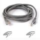 BELKIN CAT 5 PATCH CABLE 10BASET MOULDED SNAGLESS 3M GREY NS