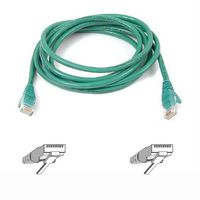 BELKIN CAT 5 PATCH CABLE 2M MOULDED SNAGLESS GREEN NS (A3L791B02M-GRNS)