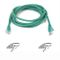 BELKIN CAT 5 PATCH CABLE 2M MOULDED SNAGLESS GREEN IN