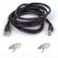 BELKIN CAT 5 PATCH CABLE ASSEMBLED BLACK 1M IN