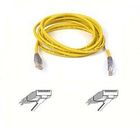 BELKIN crossover cable Cat5e UTP 5m yellow with grey connectors patch cable in bag