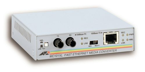 Allied Telesis MEDIACONV. 100FX TP-ST MULTI (AT-MC101XL)