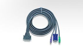 ATEN 6FT 3-IN-1 PS2 PREMIUM KVM CABLE F/ MASTERVIEW PRO              (2L1601P             )