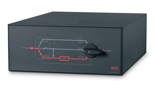 APC SINGLE PHASE SERVICE BYPASS PANEL 7500-10000VA BLAC NS (SBP10KRMI4U)