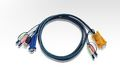 ATEN 16 FT USB KVM CABLE FOR CS1758 WITH FULL AUDIO SUPPORT