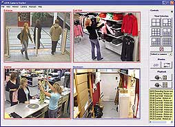 CAMERA STATION SMALL 4CAM SURVEILLANCE SOFTWARE  F/ CAM EN
