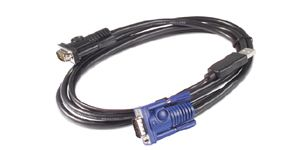 KVM-CABLE USB (12IN)  NS