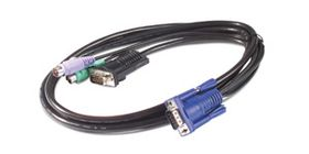 KVM PS/2 CABLE - 3FT  NS