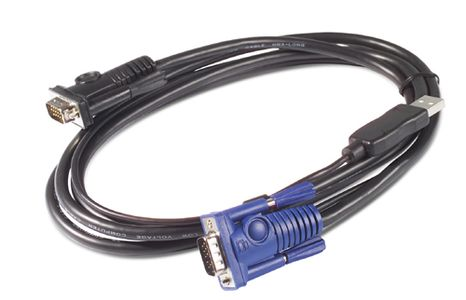 APC KVM USB Cable - 25 ft (7.6 m) (AP5261)