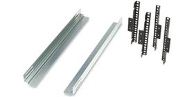 Equipment Support Rails for