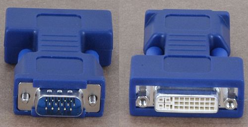 AVOCENT FEMALE DVI-I TO MALE HD15 VGA VIDEO ADPT (VAD-28)