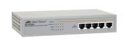 ALLIED TELESYN Allied 5x10/ 100BaseTX Unmanaged Switch, Metal chassis