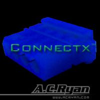 AC RYAN 4-Pol T-Molex Female UV Blue (ACR-CB8508)