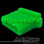AC RYAN 4-Pol T-Molex Female UV Green