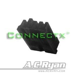 AC Ryan Floppy Power Connector Pure - black