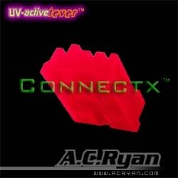 AC Ryan Floppy Power Connector UV Red