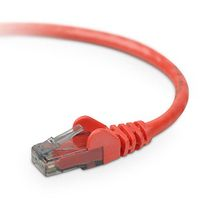 Cable/ Patch Cat6 RJ45 Snagless 15m red