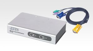 ATEN CS72ECZ 2Port PS/2 KVM Switch (CS72ECZ-AT)