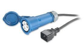 POWER CORD 16A 230V C20 TO IEC 309F