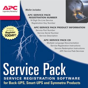 APC EXTENDED WARRANTY 3YR STOCKABLE PART NUMBER (WBEXTWAR3YR-SP-08)