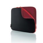"Case/14"" Notebook Sleeve Jet/ Cabernet"