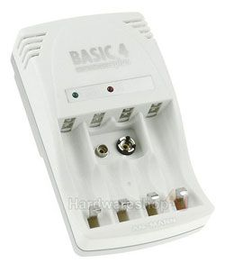 Basic 4 plus plug in charger