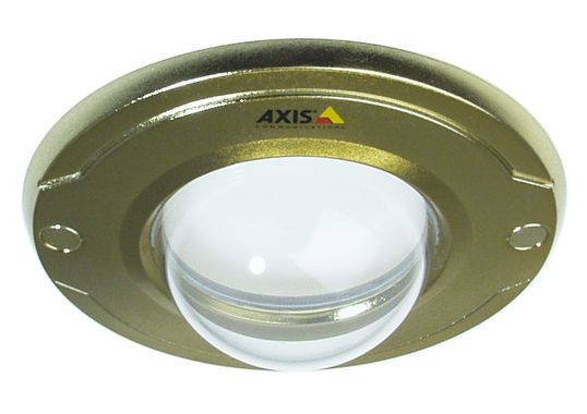 GOLD COVER WITH CLEAR BUBBLE FOR AXIS M30 SERIES 10PK ACCS