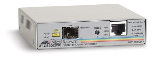 ALLIED TELESYN AT-GS2002/ SP-60 10/ 100/ 1000T to SFP Dual port MC (ATGS2002/SP60)