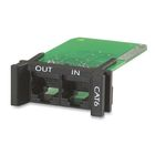 APC Surge Module for CAT6 or CAT5/5e Network Line - Replaceable - 1U - use with PRM4 or PRM24 Chassis