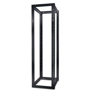 APC NETSHELTER 4 POST OPEN FRAME RACK 44U 12-24 THREADED HOLES (AR204A)