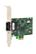 ALLIED TELESYN Secure, PCI-e (x1) Fast Ethernet Fiber (SC) Adapter, includes both standard and low profile brackets