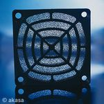 AKASA 92mm Fan Filters 92 x 92mm, Black, Washable (GRM92-30)