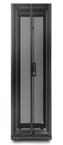 APC NetShelter AV 42U 600mm Wide x 825 Deep Enclosure with Sides and 10-32 Threaded Rails Black (AR3810)