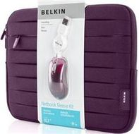 "Belkin Mini Sleeve 10.2"" Bundle-F8N300-128/ F5L016-USB (F5Z0250CW128)"