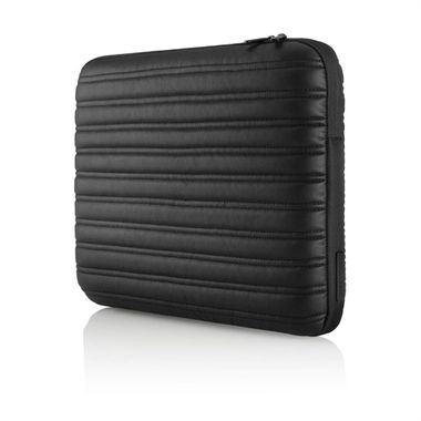 "Case/ Sleeve Laptop Pure Leather 12"" Blk"