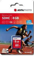 SDHC card          8GB Class 10 / High Speed / MLC