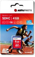 SDHC card          4GB Class 10 / High Speed / MLC