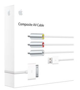 APPLE iPod Apple Composite AV Cable (MC748ZM/A)