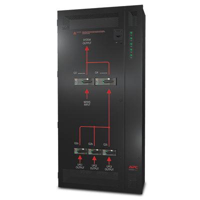 PARALLEL MAINT. BYPASS PANEL UP TO 3 UNITS 10-20KVA 400V WALLMOU