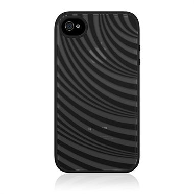 iPhone 4S case,  Silicon, Essential,  black top