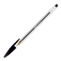 BIC BALLPOINT BLK CRISTAL INDIVIDUALY BARCODED (847897*50#DBL)
