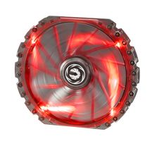 Spectre PRO 230mm Lüfter Red LED - black