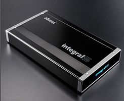Integral S 3,5 Zoll SATA External Case, USB 3.0 - black